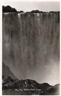 VICTORIA FALLS-SOPER-NON VIAGGIATA-REAL PHOTO - Sud Africa