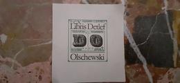 Ex Libris Detlef - Olschewski - 1989 (?) - Ex Libris