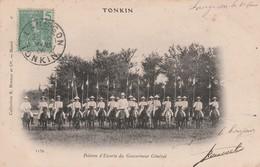 TONKIN : (asie) Peloton D'Escorte Du Gouverneur Général - Postcards