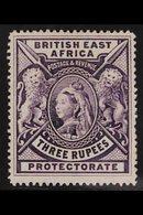 1895 3r Deep Violet, Queen Victoria, SG 94, Very Fine Mint. For More Images, Please Visit Http://www.sandafayre.com/item - Publishers
