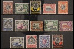 1935-37 Pictorials Complete Set, SG 110/23, Fine Mint, Fresh & Attractive. (14 Stamps) For More Images, Please Visit Htt - Publishers