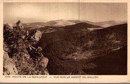 88 ROUTE DE LA SCHLUCHT  VUE SUR LE MASSIF DU BALLON - France