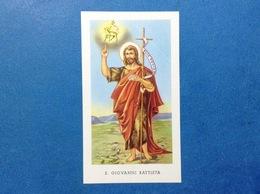 SANTINO HOLY CARD S GIOVANNI BATTISTA EDIZIONE EGIM N 63 - Santini