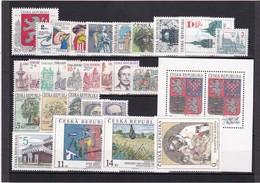 (K 4188) Tschechische Republik, Kpl. Jahrgang 1993** - Czech Republic