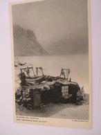 C.P.A.- Groenland - Des Traîneaux Sur Le Toit Slaeder Paa Hustag - 1920 - SUP (BZ 90) - Cartes Postales