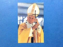 SANTINO HOLY CARD PAPA GIOVANNI PAOLO II - Santini