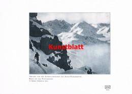 1179 Sehrig. Adolf Pichler Hütte Alpenclubscharte Kunstblatt 1907 !! - Documentos Históricos