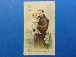 SANTINO HOLY CARD SANT'ANTONIO DI PADOVA - Santini