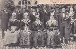 SCHLEITHAL - BAS-RHIN - (67)  - NANCY (54) - CPA TRÈS ANIMÉE DE 1909.. - Andere Gemeenten