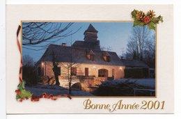 CP - BONNE ANNÉE 2001 - CHRISTIAN MALAURIE / TRADITIONS DU PÉRIGORD - Nouvel An
