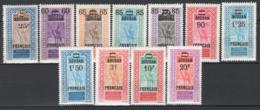 Sudan 1922/27 Y.T.42/52 */MH VF/F - Sudan (1894-1902)