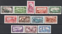 Siria 1926 Y.T.167/178  */MH VF/F - Syria (1919-1945)