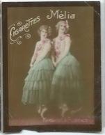 CIGARETTES MELIA - MARIE ET FLORENCE - Dos Vierge - Melia