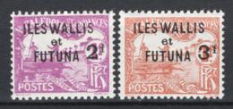 Wallis Et Futuna 1927 Segnatasse Y.T.9/10 */MH VF/F - Postage Due