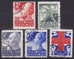 Netherlands/1927 - Red Cross/Rode Kruiszegels - Set - USED - Used Stamps