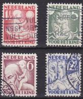Netherlands/1930 - Child Welfare/Kinderzegels - Set - USED - Period 1891-1948 (Wilhelmina)