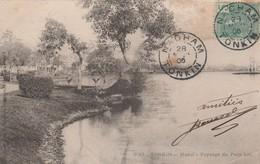 TONKIN : (asie) Hanoï. Payasage Du Petit Lac - Postcards