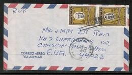 HONDURAS   SCOTT # C 373 (2) ON 1970 AIRMAIL COVER TO USA  (OS-465) - Honduras