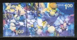 CEPT 2001 UA MI 444-45 USED UKRAINE - Europa-CEPT
