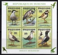 Burundi 2015 Fauna Birds Minisheet MNH - Oiseaux