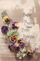 Fleurs (Fantaisie) - Fleurs De France - Porte Bonheur - Flowers, Plants & Trees