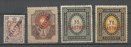 RUSSLAND RUSSIA 1903/04 Levant Levante Michel 26 - 29 Y * - Turkish Empire