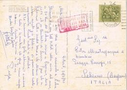 33432. Postal Aerea CASCAIS (Portugal) 1970. Slogan Codigos LISBOA - 1910-... República