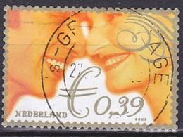 Netherlands/2002 - Wedding Stamp/Huwelijkszegel - €0.39 - USED - Period 1980-... (Beatrix)