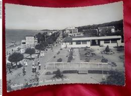 Follonica 1949 Giardini Del Tennis E Viale Italia ANIMATA VIAGGIATA - Italia