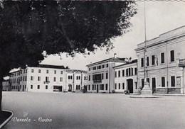 VAZZOLA-TREVISO-CENTRO-CARTOLINA VERA FOTOGRAFIA  VIAGGIATA IL 21-3-1955 - Treviso