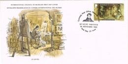 33433. Carta F.D.C. GUERNSEY 1980. LELIEVRE Paintings, Pintura. Sark Cottage - Guernsey