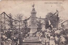 (88) CHATILLON Sur SAONE (140 H) 5 Juin  (Inauguration Du Monument Aux Morts Guerre 1914-1918) 1er Cliché . EN L'ETAT - Francia