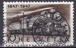 Switzerland/1947 - Zu 278 - 10 C - USED/'GENEVE 1' - Schweiz