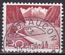 Switzerland/1949 - Zu 301A - 20 C - USED/'MONTFAUCON' - Schweiz