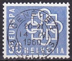 Switzerland/1959 - Zu 348 - 50 C - USED/'GENEVE 1' - Schweiz