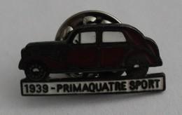 SUPERBE PINS - Voiture 1939 - Primaquatre Sport - Transportation