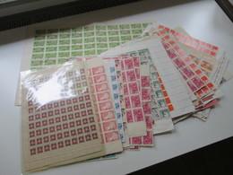 Vietnam Ca. 1979 -80er Jahre Bogenposten / Bogenteile Mehr Als 75 Stk / über 4000 Marken Gestempelt! Fundgrube! Hoher KW - Sammlungen (ohne Album)