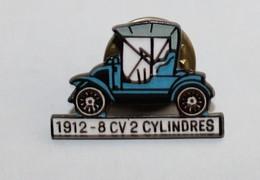 SUPERBE PINS - Voiture 1912 - 8 CV 2 Cylindres - Transportation