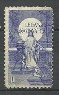 Italia Italy 1910 LEGA NAZIONALE Vignette Advertising Poster Stamp (*) - Erinnofilia