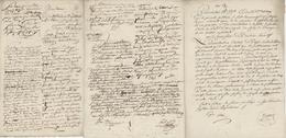 Procès Verbal - Pétition Pfetterhouse An 7 - 6.8.1799 L'ensemble - Documentos Históricos