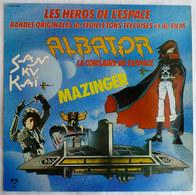 DISQUE 33T ALBATOR SANKUKAI MAZINGER GOLDORAK PM231 1980 - Disques & CD