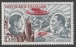 France Neuf Sans Charnière 1973 Poste Aérienne Aviation Célébrité Guillaumet Et Codos   PA 48 - 1960-.... Oblitérés