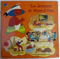 LIVRE DISQUE 33T LES AVENTURES DE PLUME D'ELAN 14501 1979 - Disques & CD