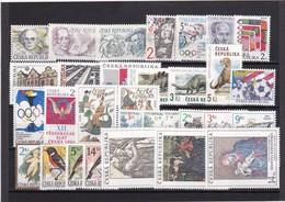 (K 4189) Tschechische Republik, Kpl. Jahrgang 1994** - Czech Republic