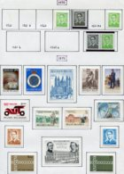 13757 BELGIQUE Collection Vendue Par Page N° 1561Aa, 1563/3A, 1561c, 1567-1579 **/ *   1970-71  TB/TTB - Belgium