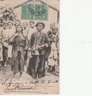 TONKIN : (asie) Groupe De Femmes Et Hommes MANS-COI. Région De CASBANG - Postcards