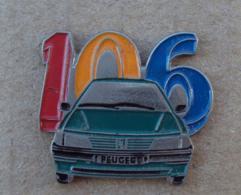 Pin's Automobile 011, Peugeot 106 - Peugeot