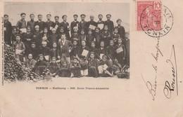TONKIN : (asie) HAÏDUONG. Ecole Franco-Annamite - Postcards