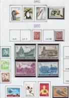 13761 BELGIQUE Collection Vendue Par Page N° 1644 - 1660  **/ */ °   1972-73  TB/TTB - Belgium