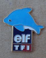 Pin's Carburants 010, Elf TF1 Dauphin - Fuels